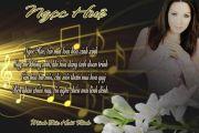 Thơ Tranh Ca Nhạc Sĩ : Ngọc Huệ